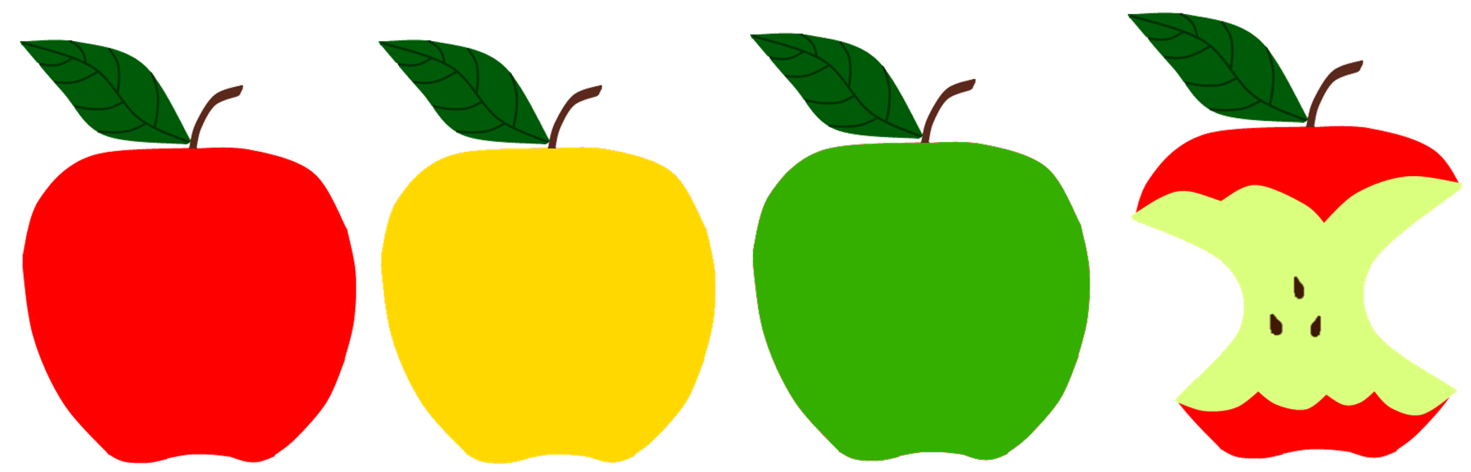 green and red apples clipart. red, green, yellow apples for apple storytime green and red clipart r