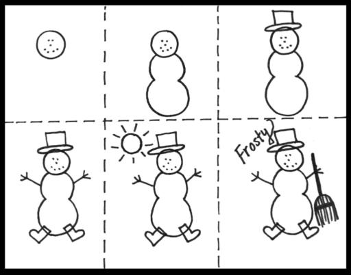 Draw a Snowman