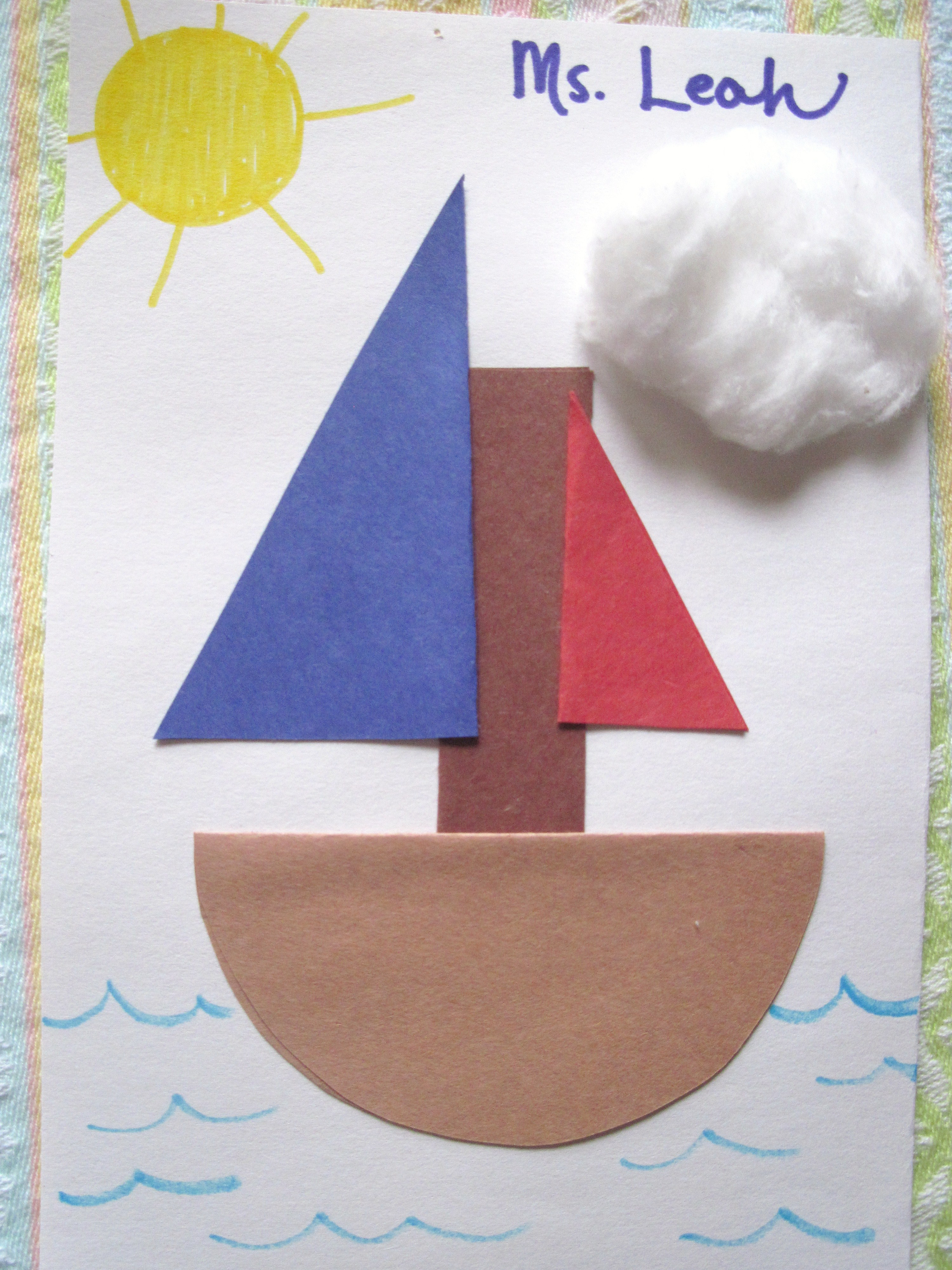 Water Transportation Arts And Crafts