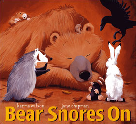 Bear Snores On Preschool Crafts