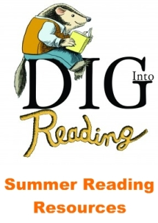 DIG-into-Reading Summer Reading Ideas