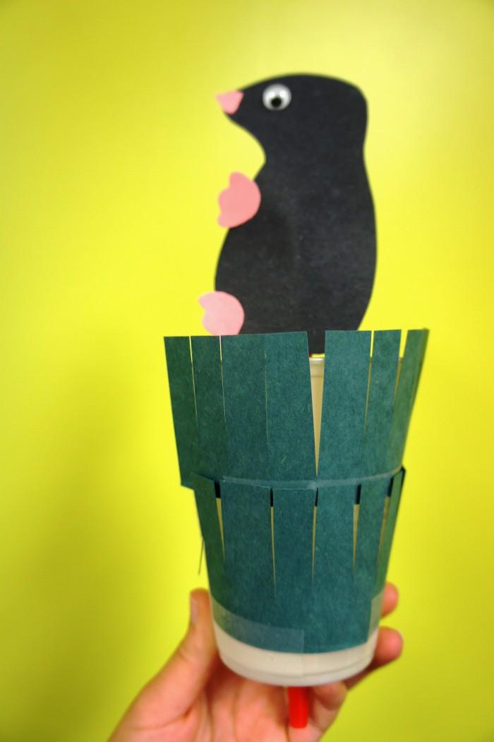 Kindergarten Dog Craft
