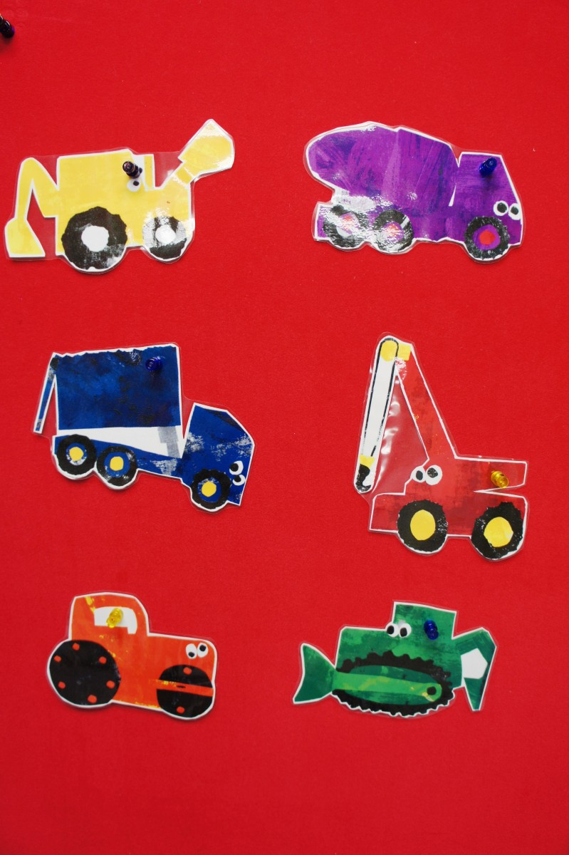 Preschool Transportation Crafts Activities