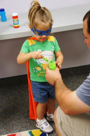Superhero Library Program Sunflower Storytime, Practice your super-breath with bubbles!