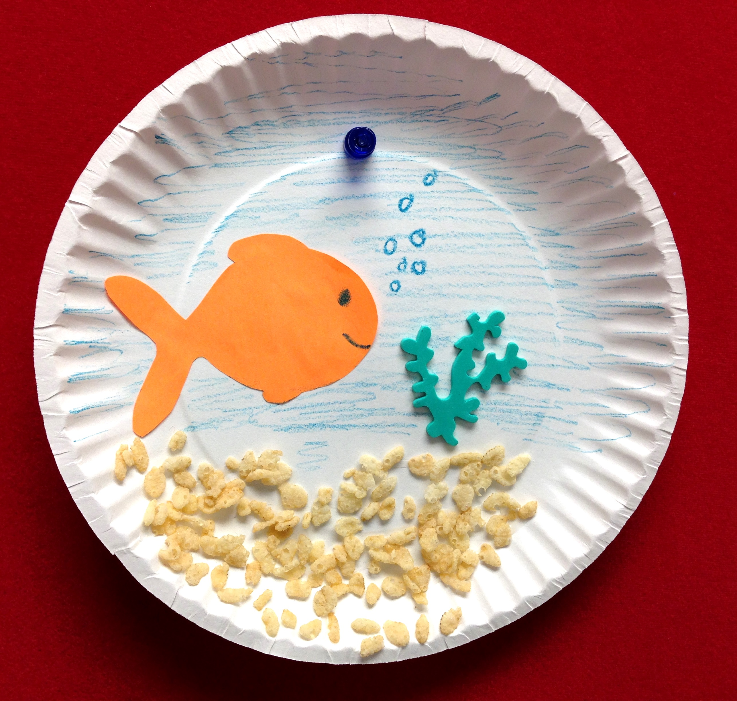 Easy Fish Paper Craft