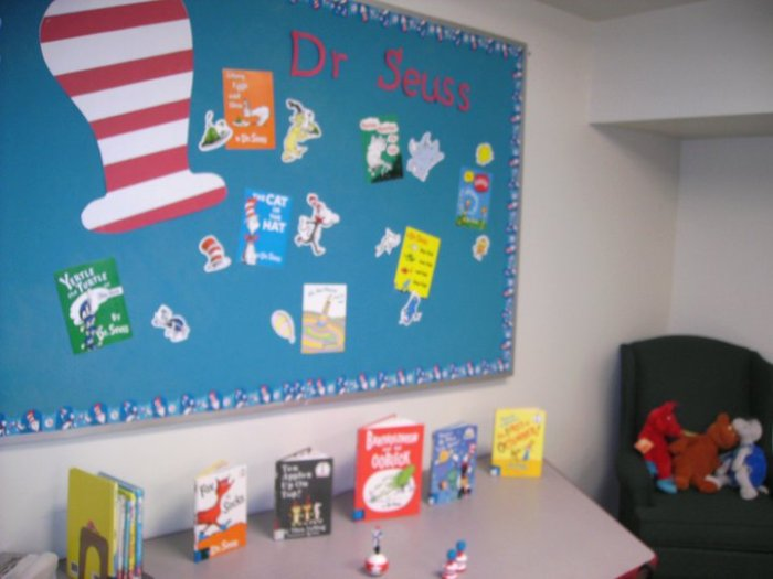 Dr. Seuss Bulletin Board