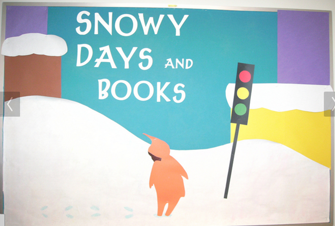 Snowy Day Bulletin Board