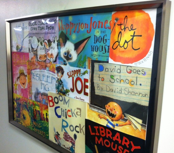 Frame Childrens Book Covers