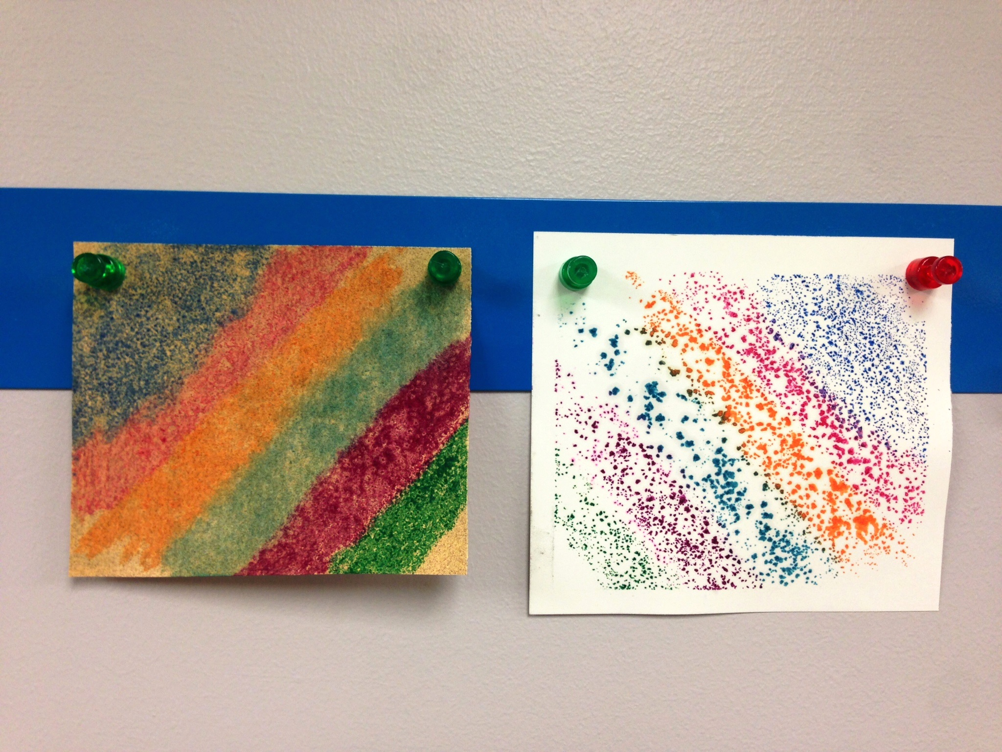 Color Changing Erasers