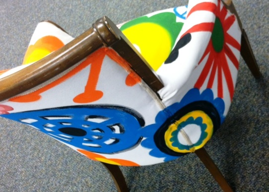 Painted Chair (Sunflower Storytime)