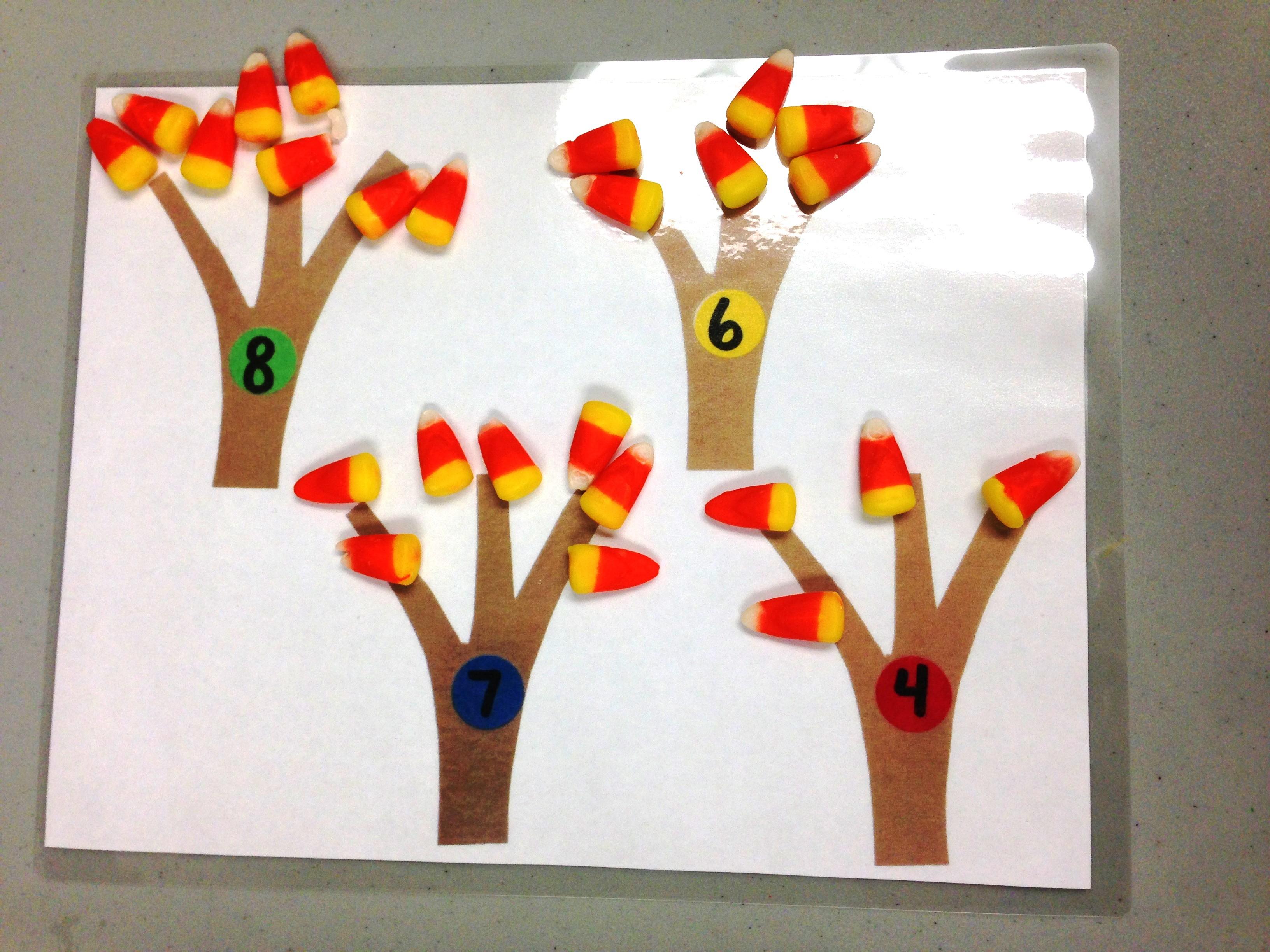 math worksheet : fall  sunflower storytime : Candy Corn Math Worksheets