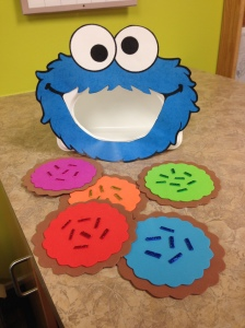 Feed Cookie Monster
