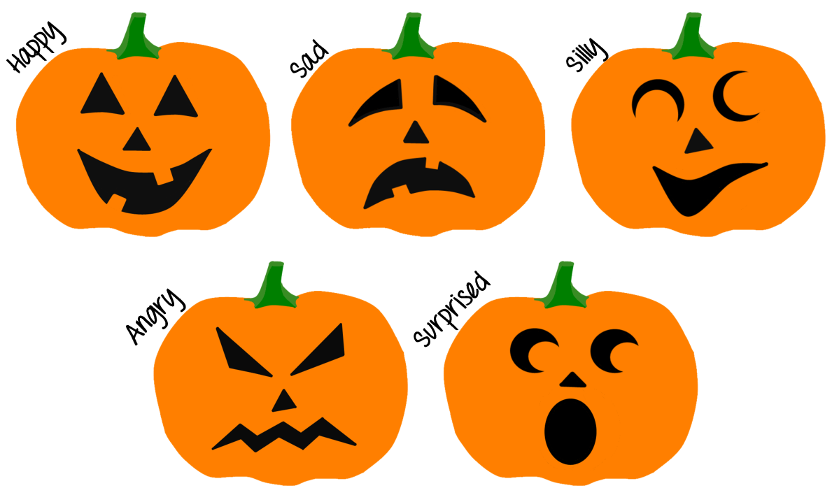 Feelings Jack-O-Lanterns