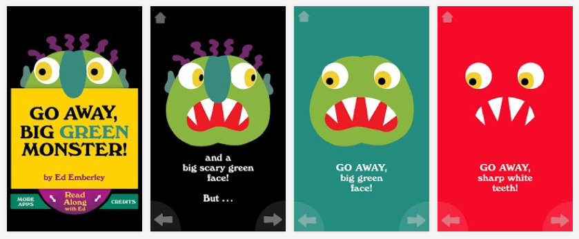 graphic relating to Go Away Big Green Monster Printable Book called Monsters Dont Scare Me! Sunflower Storytime