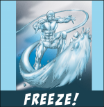 Superhero Freeze Game