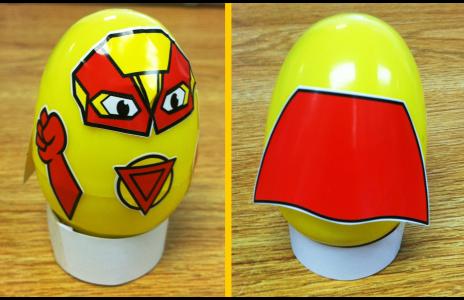 Superhero Shaker Eggs