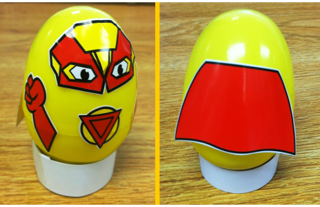 Superhero Shaker Eggs