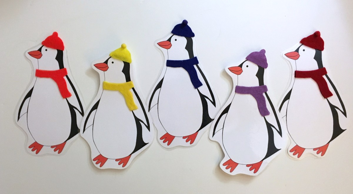 Penguin Printable Sunflower Storytime